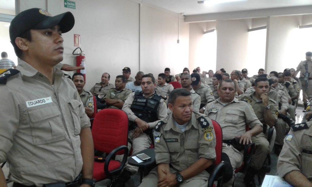 Comandante da 5ª CIPM apresenta plano de comando ao efetivo da unidade