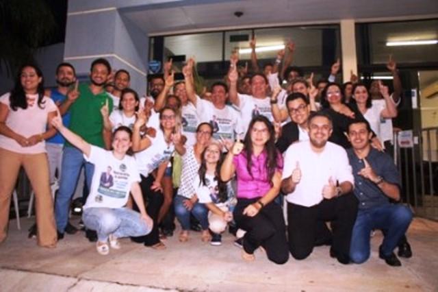 Cleiton Pinheiro vence as eleições do SISEPE-TO