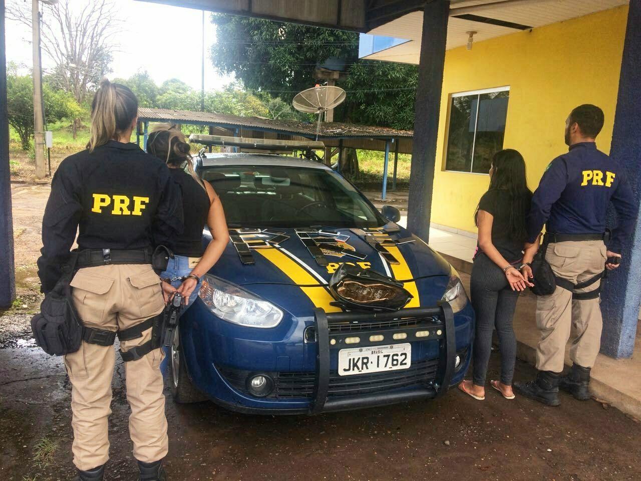 PRF prende em flagrante duas mulheres suspeitas de receptação