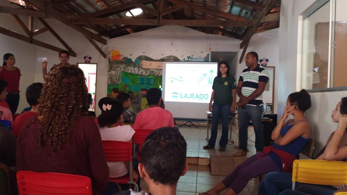 APA Serra do Lajeado e Prefeitura promovem ações no Dia Mundial da Água