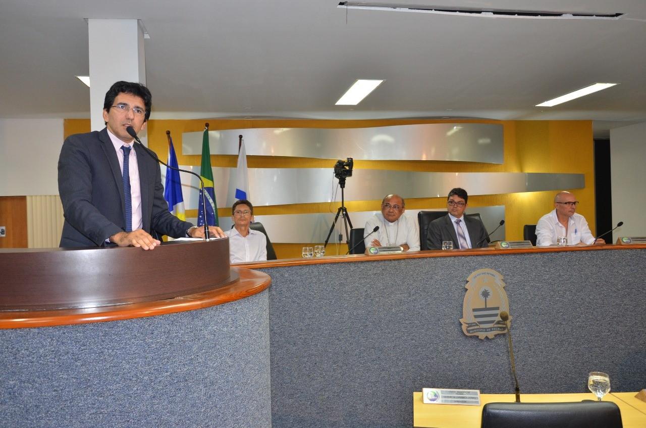Audiência solicitada por Júnior Geo discute preservação e abastecimento de água em Palmas