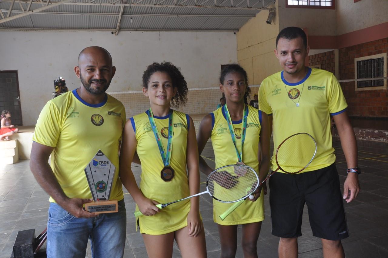 Projeto Social de Badminton, com apoio da Prefeitura de Porto Nacional, comemora classificação de alunas ao Mundial da Índia