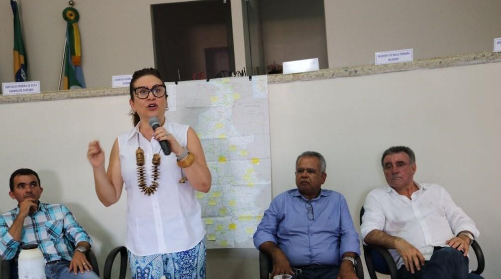 Kátia Abreu intensifica trabalho de visita aos municípios e coleta sugestões para seu projeto de governo