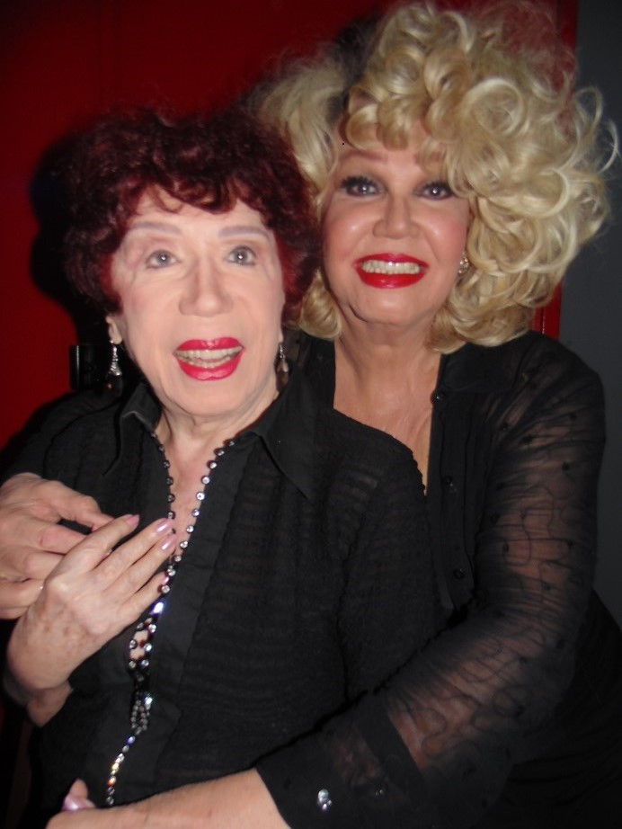 Berta Loran comemora 92 anos em damas do Humor e da Canção ao lado da Jani Di Castro na Sala Baden Powell