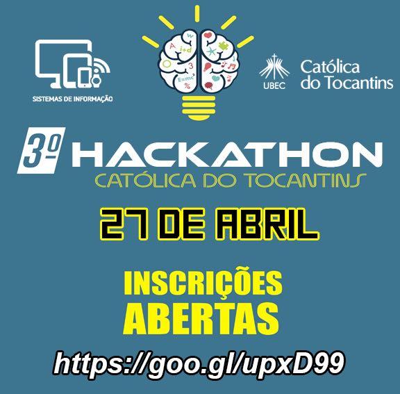 Faculdade Católica do Tocantins realiza 3º Hackathon