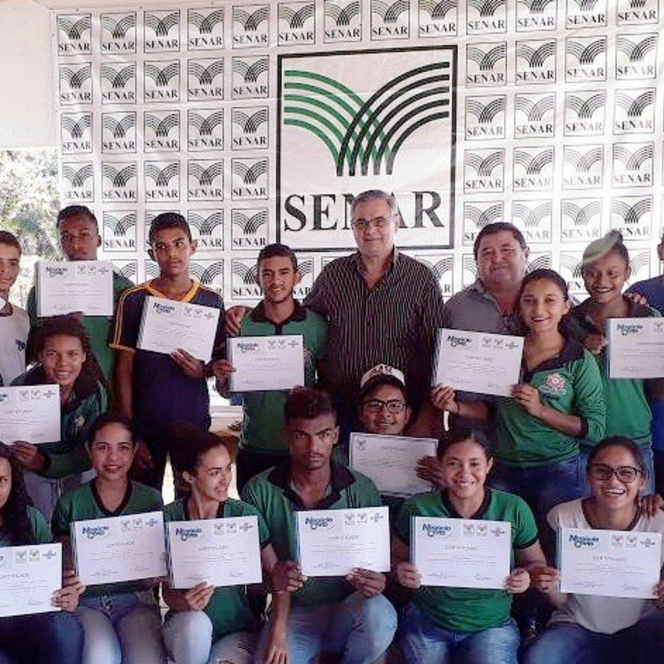 SENAR certifica três turmas de produtores no distrito de  Esperantina
