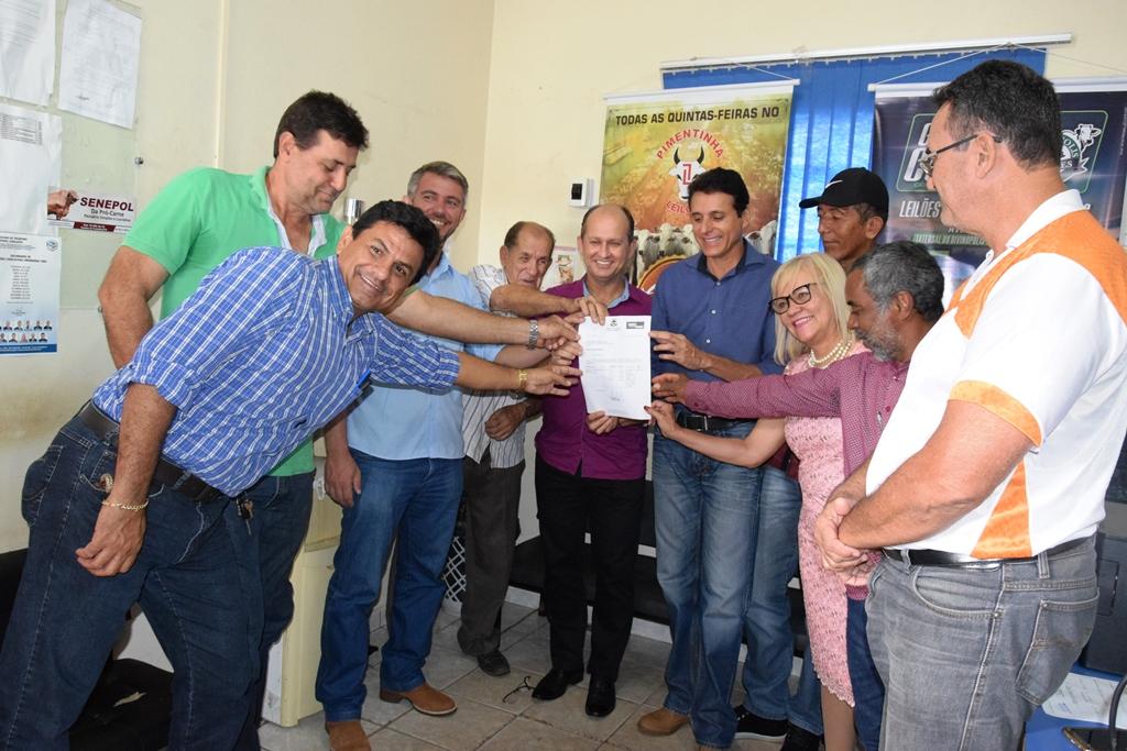 Adapec recebe emenda de Nilton Franco para reforma e ampliação da regional de Paraíso TO