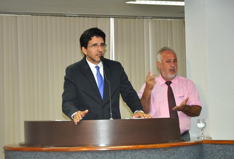 Júnior Geo defende direitos dos estudantes da capital