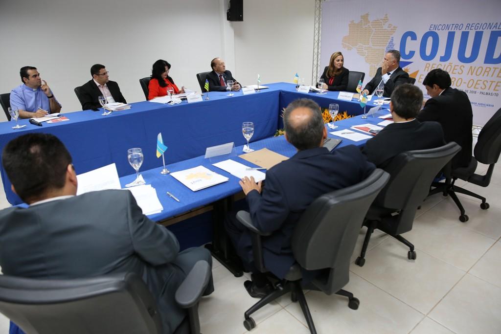 Ouvidores Judiciais do Norte e Centro-Oeste se encontram em Palmas para discutir melhorias na prestação jurisdicional