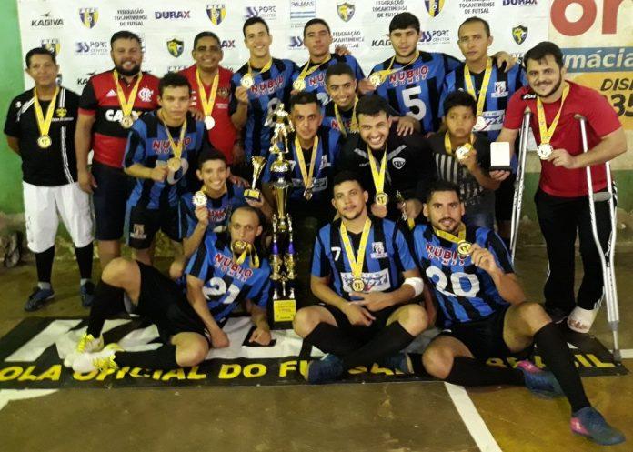 Miranorte Futsal bate o Colinas Kaburé nos pênaltis e é campeão da Série Prata