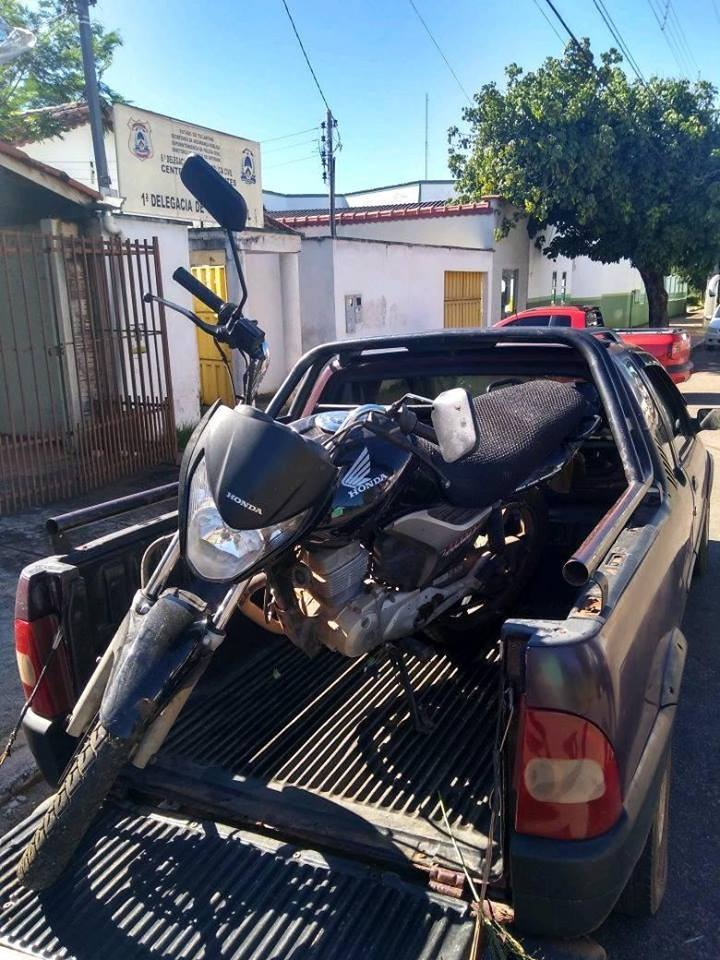 Polícia Civil recupera motocicleta roubada em Paraíso do Tocantins