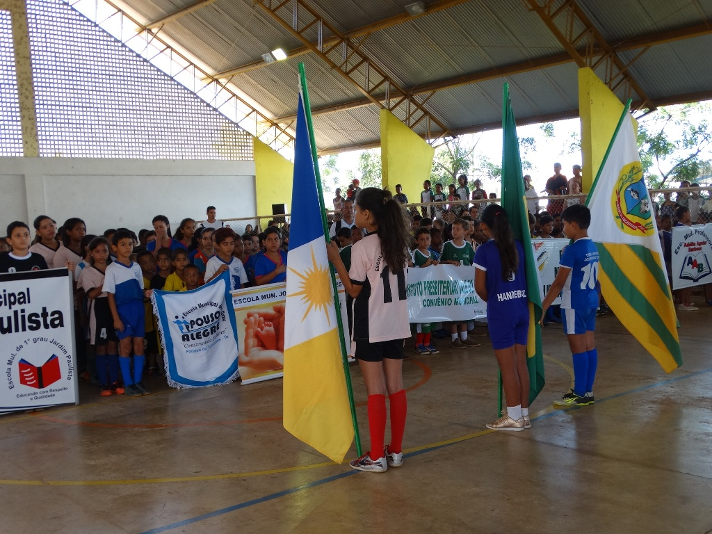 Torneio Interescolar tem início em Paraíso com participação de 10 escolas da Rede Municipal
