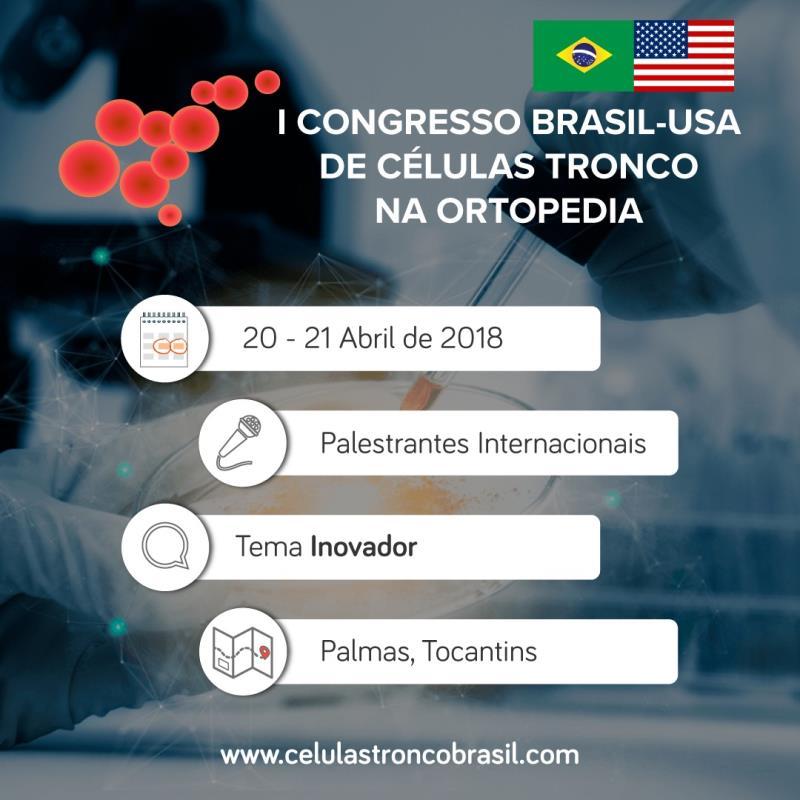 Congresso inédito no Brasil acontece neste fim de semana em Palmas e promove intercâmbio entre profissionais