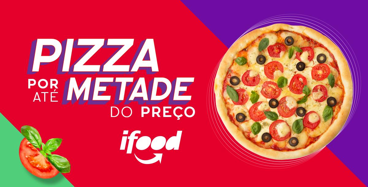iFood promove Festival da Pizza com até 50% de desconto
