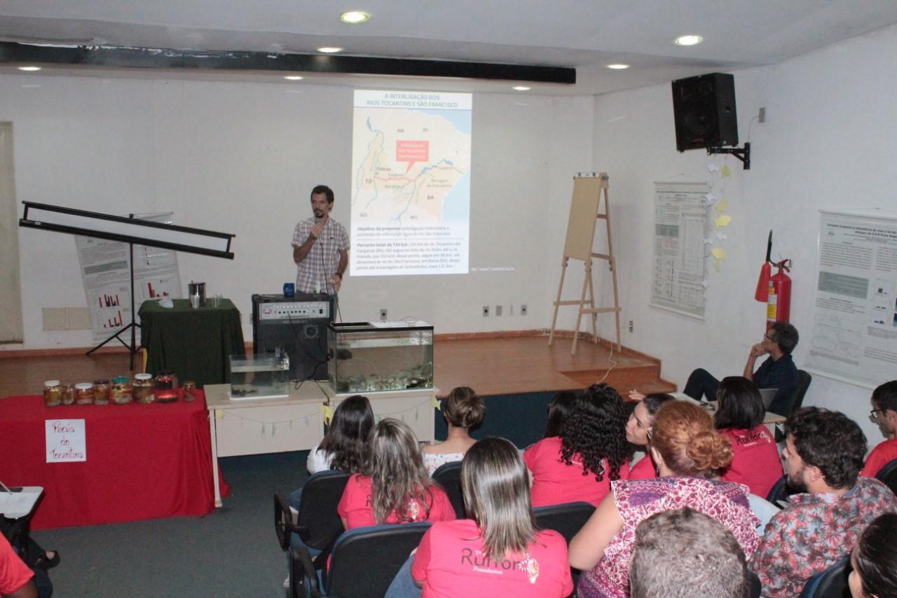 Naturatins discute a redução de peixes nos rios tocantinenses e a construção de barragens