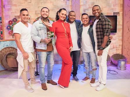 Faa Morena recebe o grupo Imaginasamba e o cantor Gabriel Elias neste sábado no Ritmo Brasil