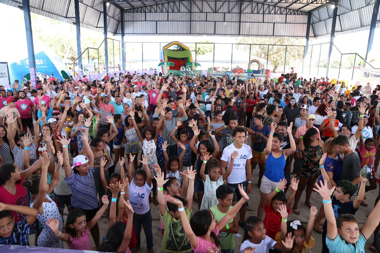 Ação Global em Pedro Afonso extrapola metas
