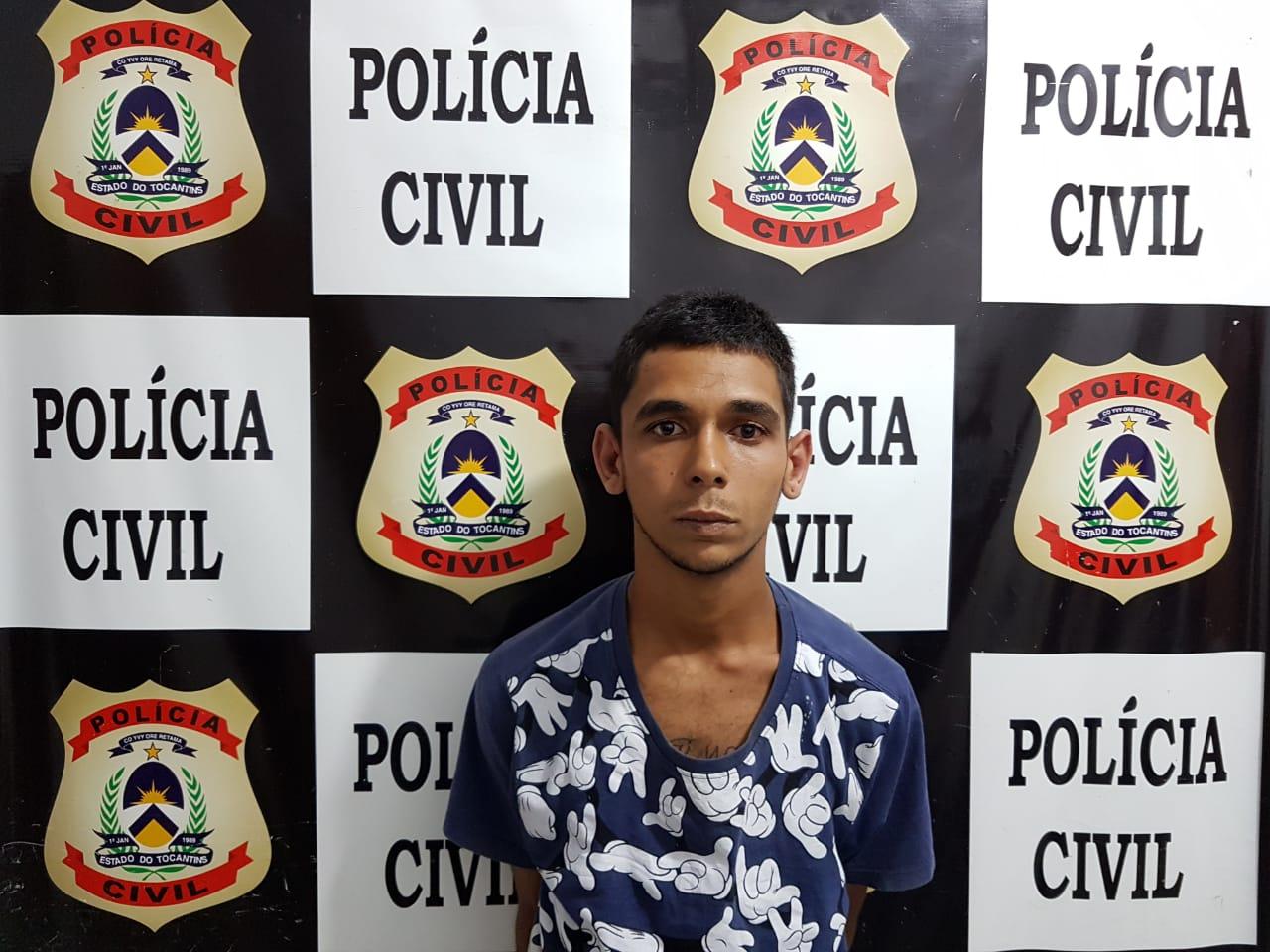 Polícia Civil prende suspeito por tráfico de drogas em Gurupi