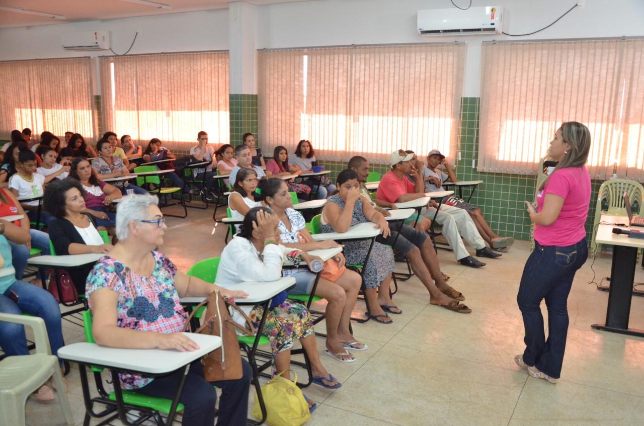 CAPS de Porto Nacional promove palestra no IFTO sobre o Dia da Luta Antimanicomial