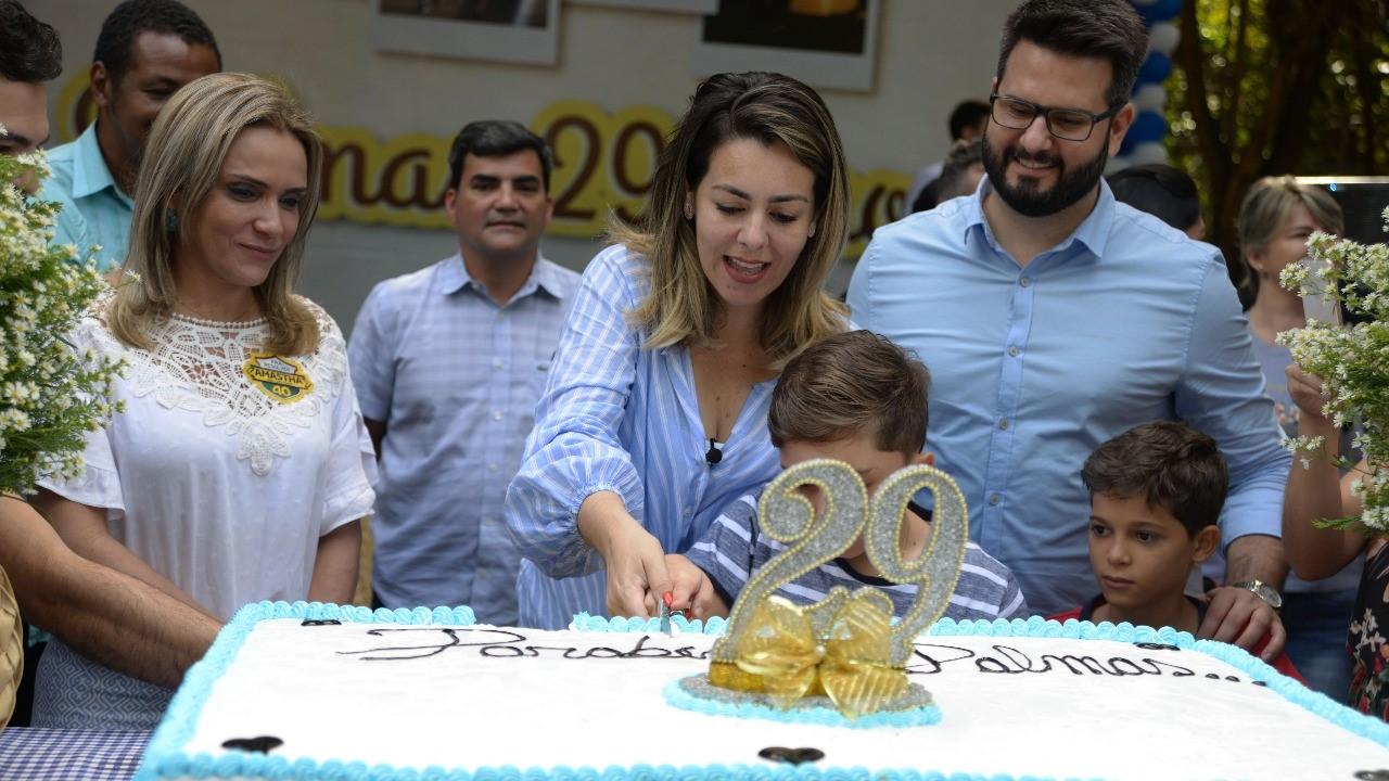 Famílias lotam piquenique de aniversário de Palmas no PPI