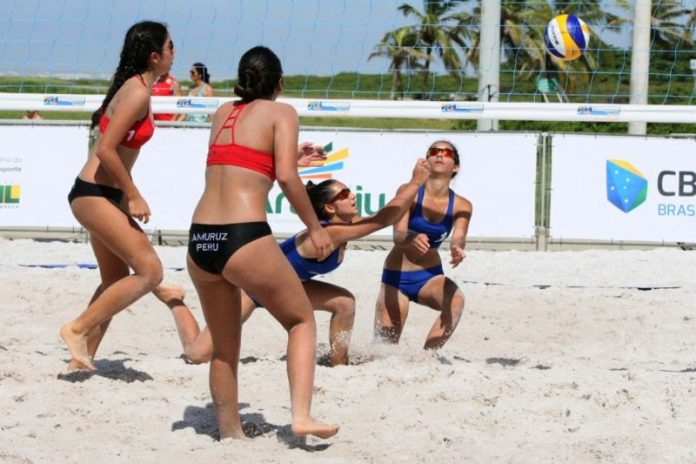 Abertas inscrições para o Campeonato Estadual Escolar de Vôlei de Praia
