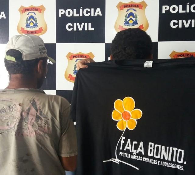 Padrasto é preso suspeito de abusar sexualmente da enteada de 12 anos