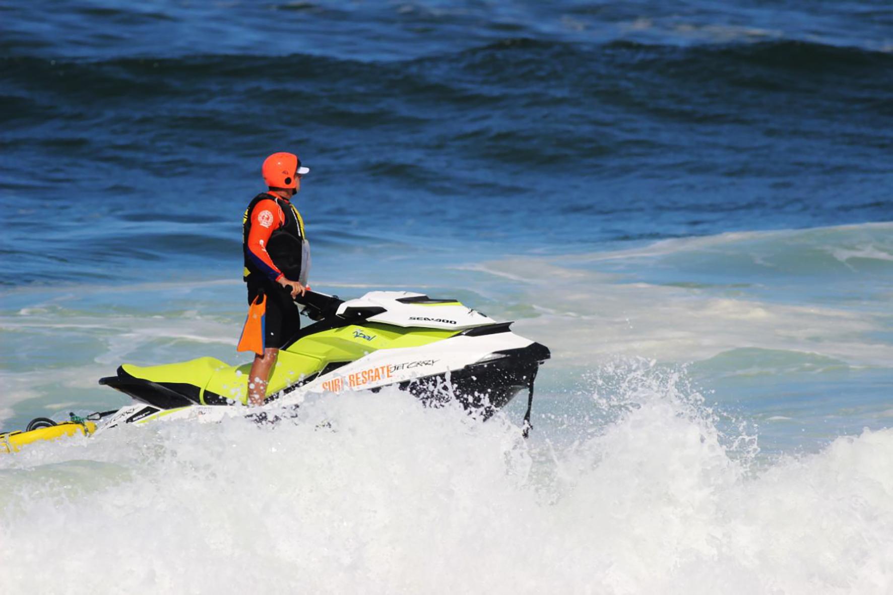 Surf Resgate atua nos bastidores da etapa brasileira do Campeonato Mundial