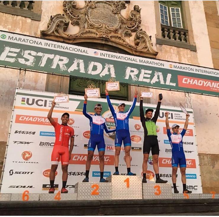 Edson Rezende vence Short Track e Lukas Kaufmann é vice da Maratona, em Mariana (MG)