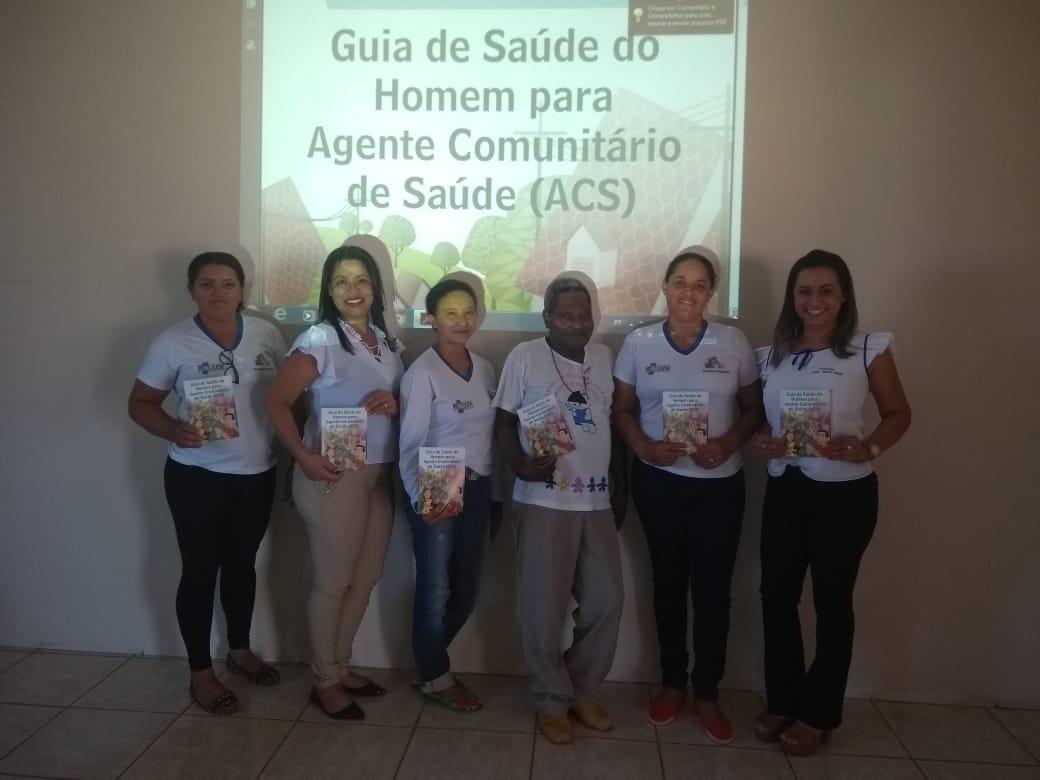 Agentes Comunitários de Saúde de Monte Santo (TO) participam de encontro sobre saúde do homem