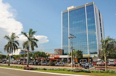 Vistoria no prédio da Prefeitura de Palmas