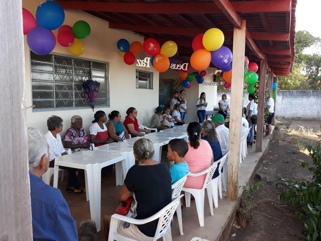 CRAS de Marianópolis do Tocantins recebe ação do Sicoob Credipar