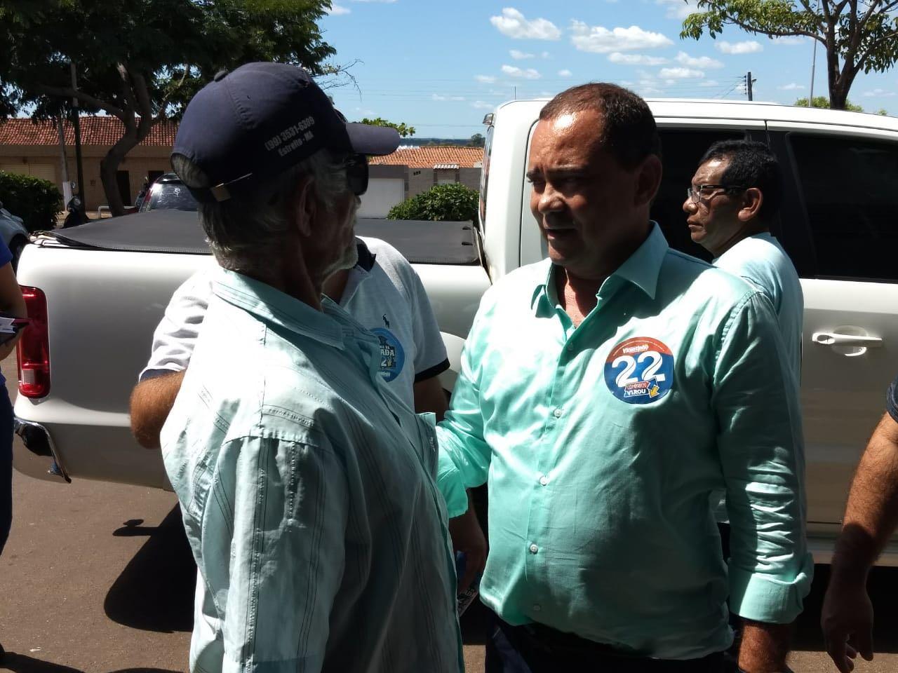 Vicentinho diz que saúde será prioridade em Tocantinópolis