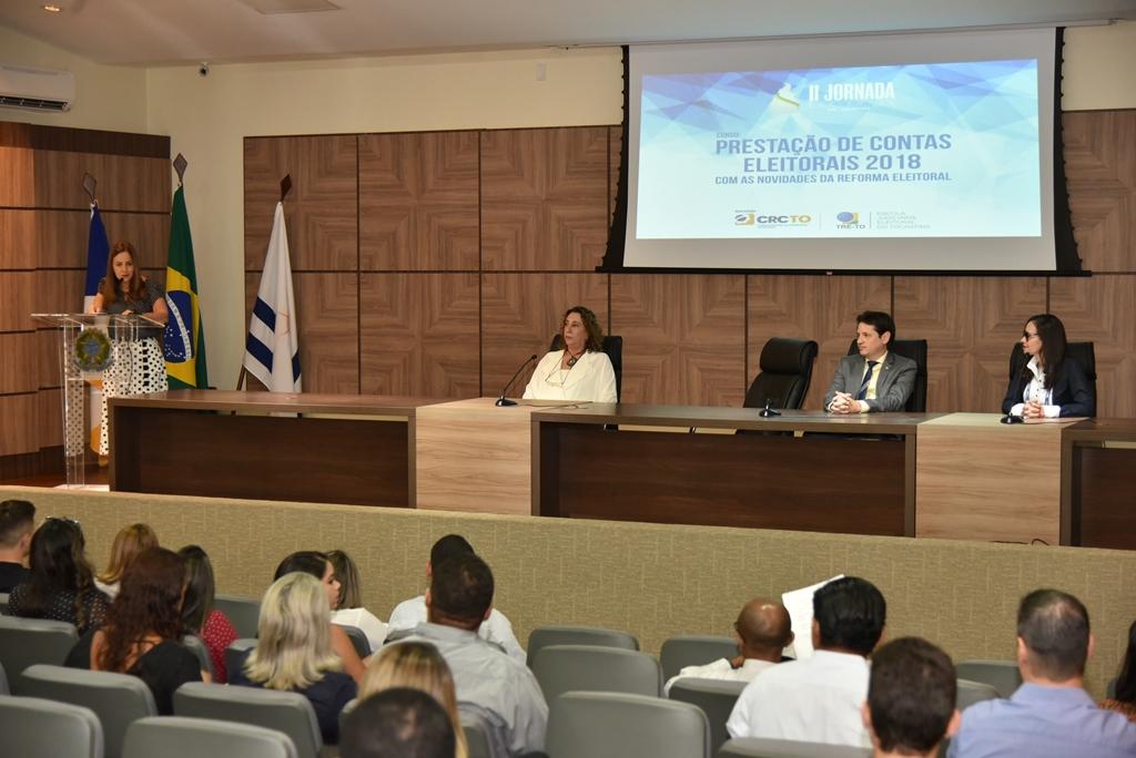 TRE-TO em parceria com o Conselho Regional de Contabilidade promove curso em Prestação de Contas Eleitorais 2018