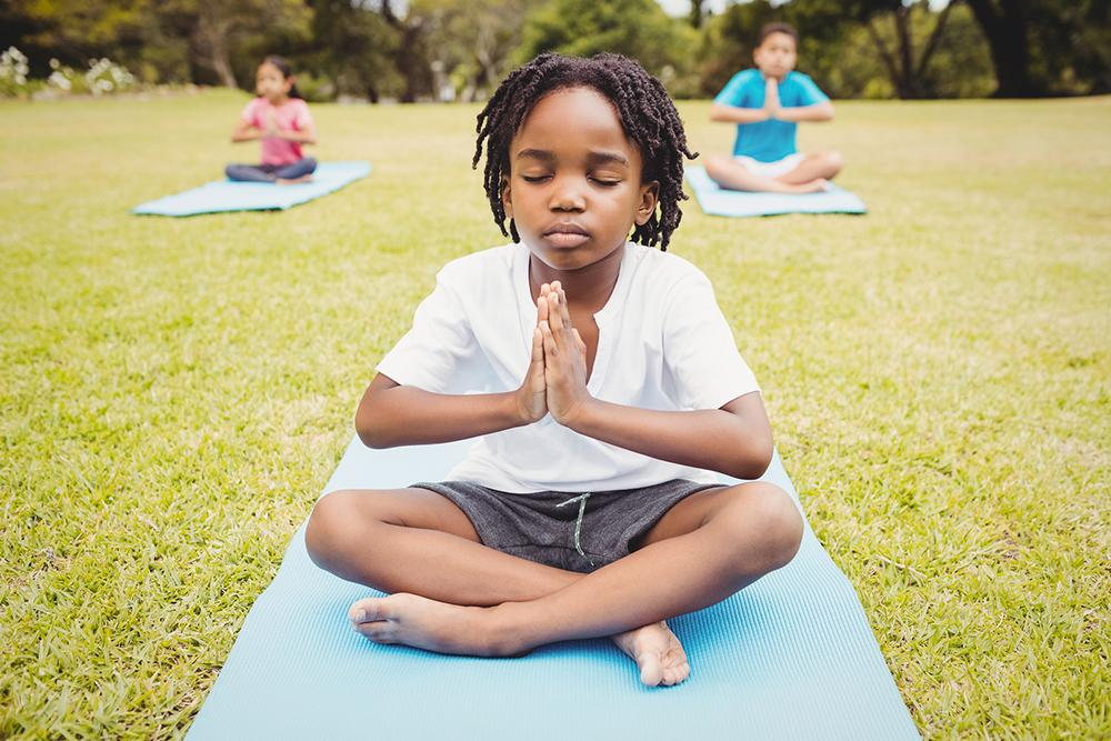 Meditação pode ajudar os pequenos a lidar com emoções durante jogos da Seleção