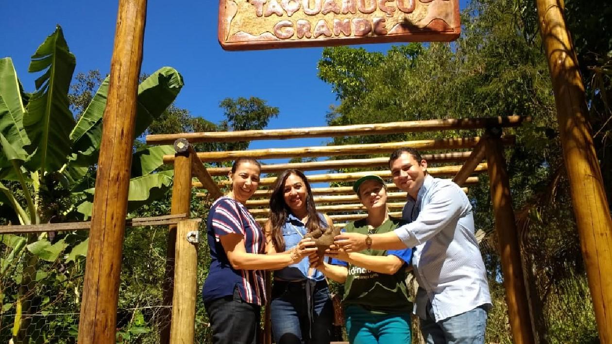 Gestora do Colégio Agropecuário de Natividade visita Palmas e destaca projetos para aprendizagem ambiental