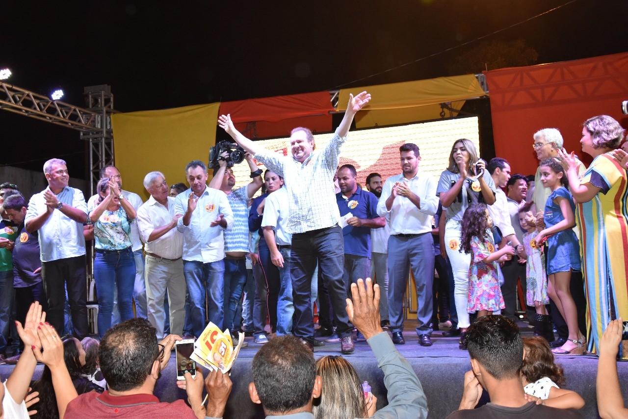 """""""O povo quer e precisa ver projetos"""", defende Carlesse durante grande reunião em Palmas"""