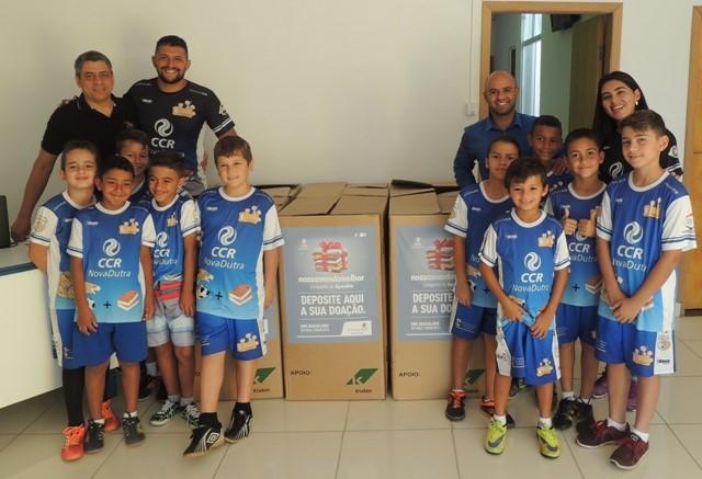 Campanha do Agasalho: projeto apoiado pela CCR NovaDutra entrega doações para Fundo Social de Solidariedade de Pindamonhangaba