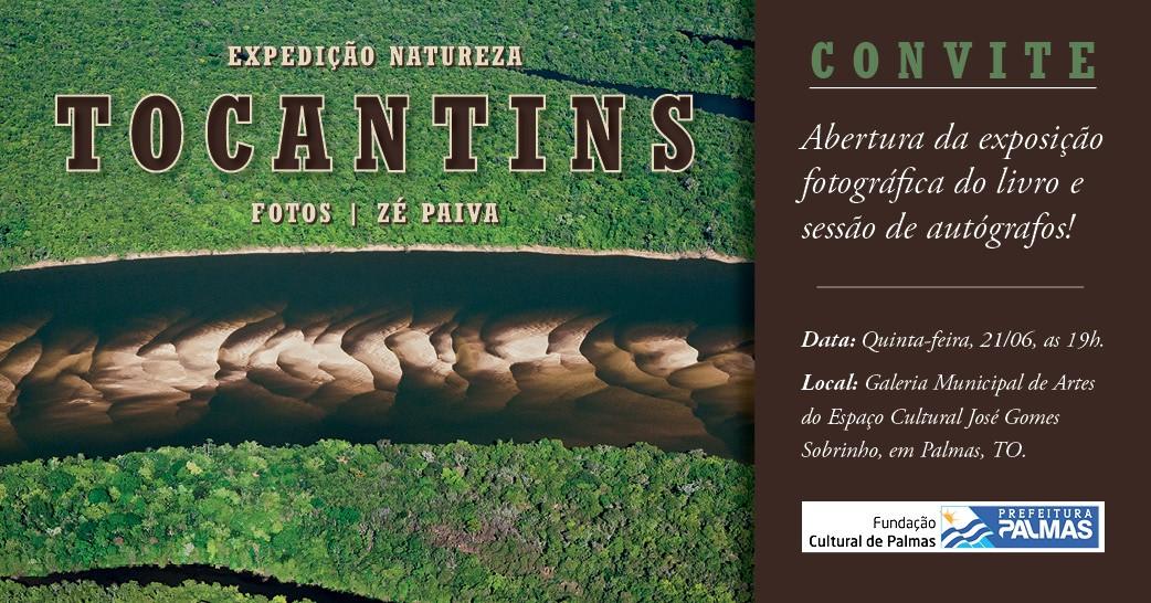 NILA recebe exposição fotográfica Expedição Natureza – Tocantins nesta quinta-feira, 21
