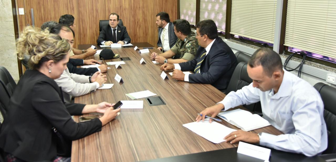 Presidente do TRE-TO e Comissão de Segurança Institucional apresentam ações para o 2º turno das Eleições Suplementares
