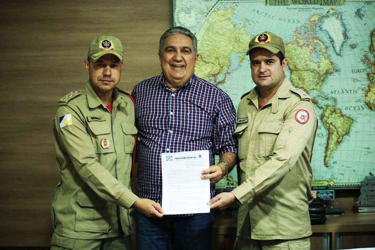 Parceria entre Prefeitura de Gurupi e Corpo de Bombeiros formará brigada de combate a incêndios florestais