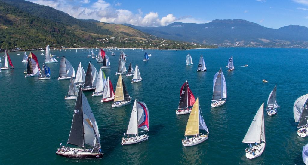 Semana de Vela de Ilhabela começa com atrações gratuitas para o público no mar e em terra