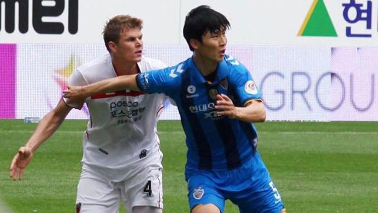 Titular no Pohang Steelers, Alemão valoriza sequência na equipe e avalia seus primeiros 6 meses na Coréia do Sul