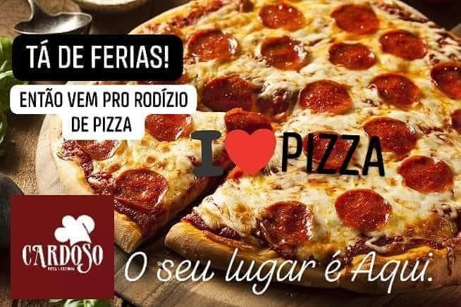 Hoje é dia de rodízio na Cardoso Pizza e Cozinha em Paraíso (TO)