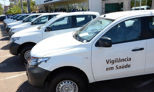 Municípios Tocantinenses recebem veículos para combate a endemias