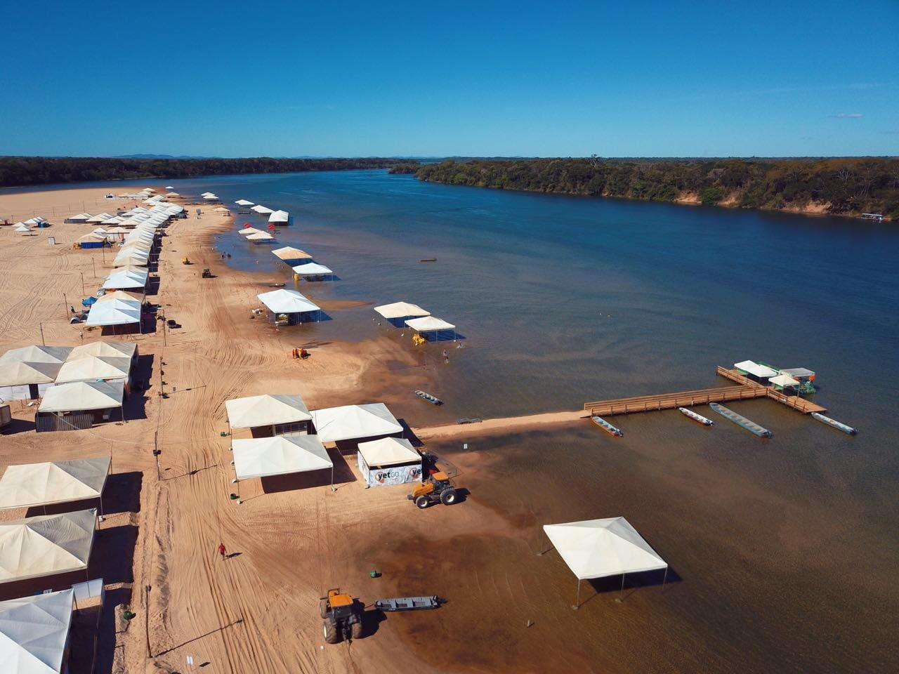 Prefeitura de Peixe decide reabrir praia da Tartaruga durante temporada