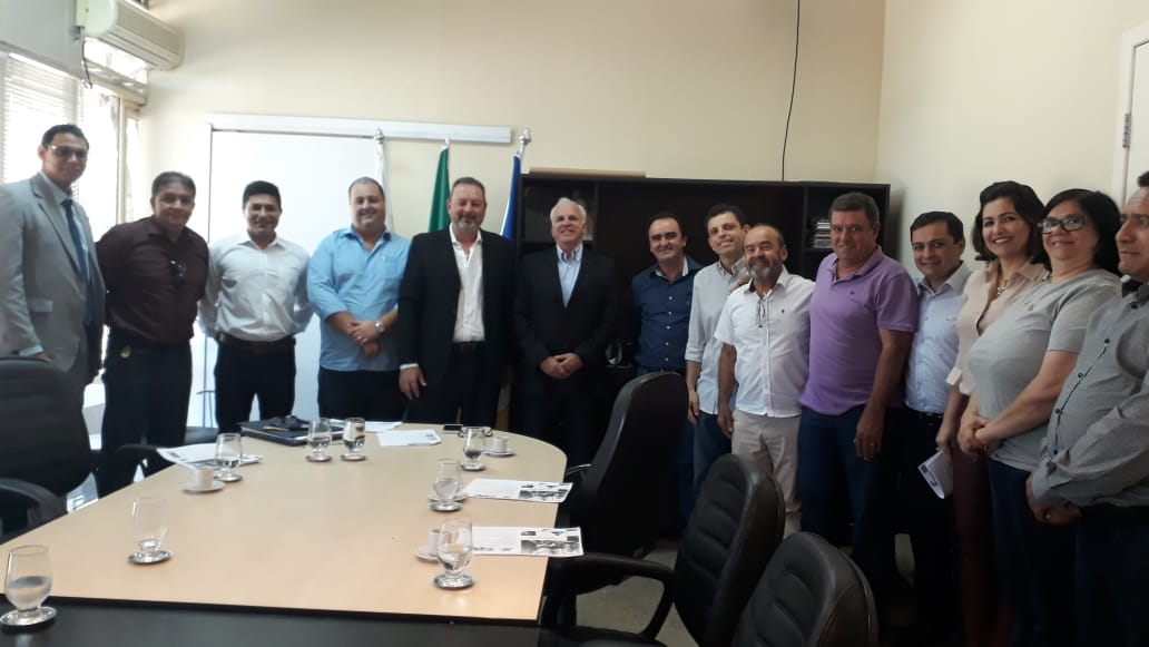 Presidente da ACIP apresenta projetos da FENEVA e Natal 2018 ao Governo do Tocantins