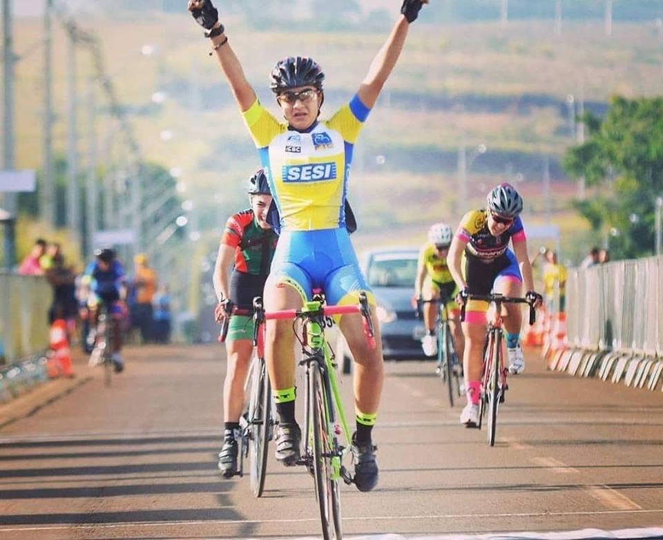Tocantinense de 15 anos é Campeã Brasileira de Ciclismo de Estrada
