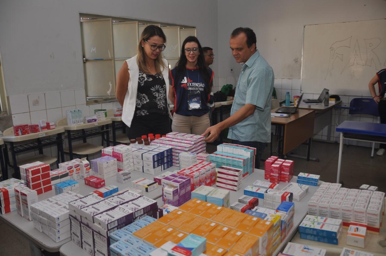 Prefeito Joaquim Maia e secretária de Saúde acompanham atividades de projeto missionário Uma Semana Para Jesus