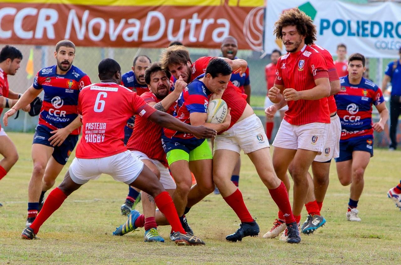 Apoiadas pela CCR NovaDutra, equipes de Rugby estreiam no Brasileiro de XV