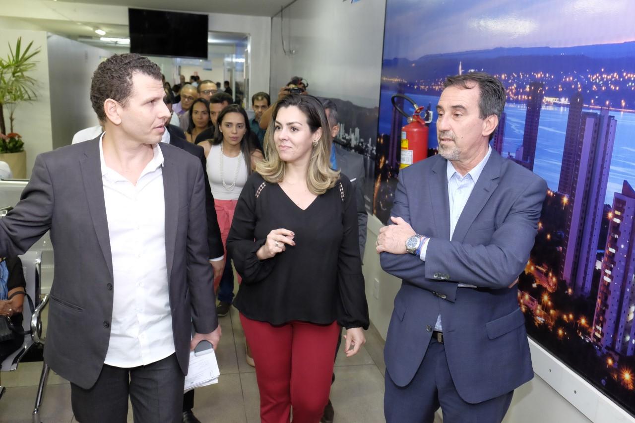 Ministro elogia saúde de Palmas e sinaliza sobre novos recursos
